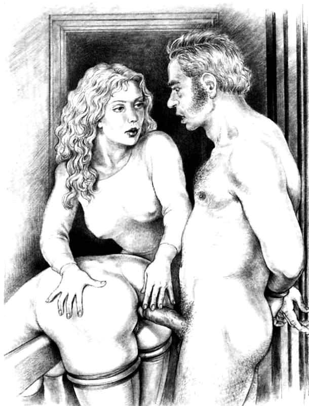 Drawings vintage porn Vintage cartoons